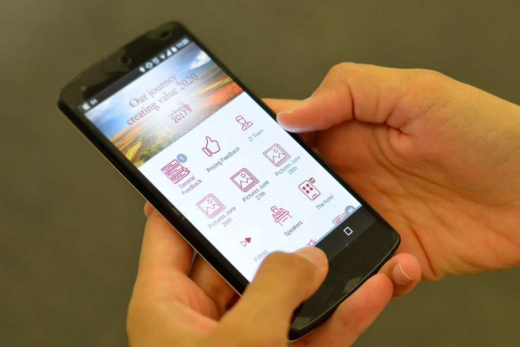 app mobile para Zamora International