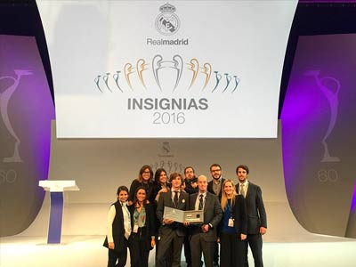 portada entrega insignias real madrid
