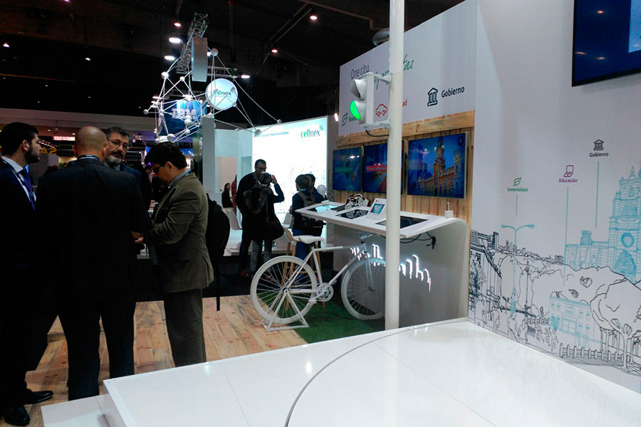 Stand de Telefónica para Smart City 2015 6