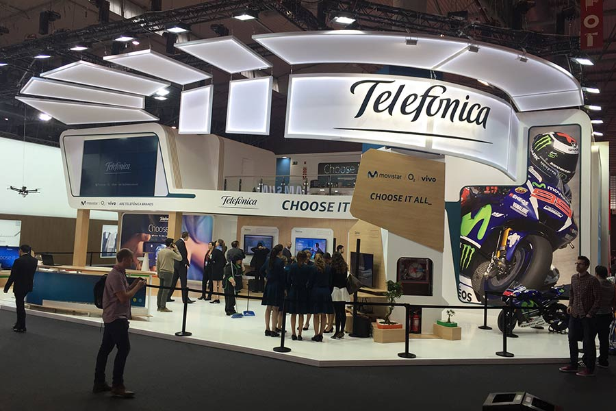 Stand Telefómica Mobile World Congress 2016 1