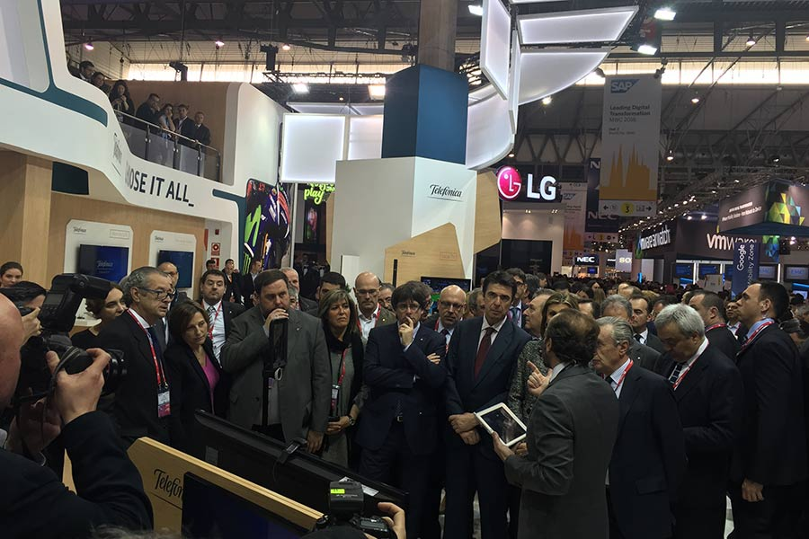 Stand Telefómica Mobile World Congress 2016 2